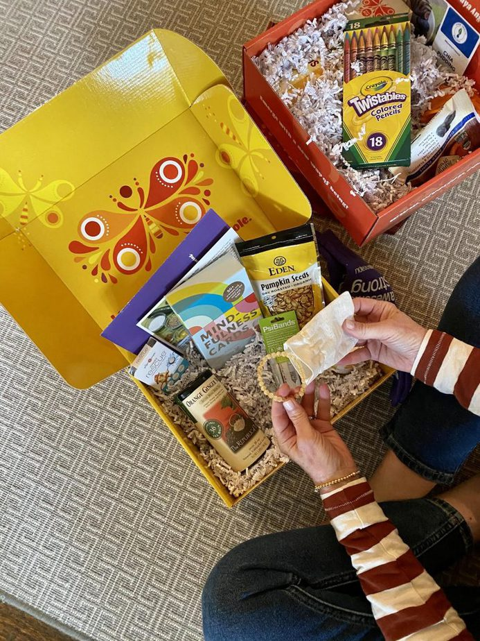 gift subscription box called Viver Joy