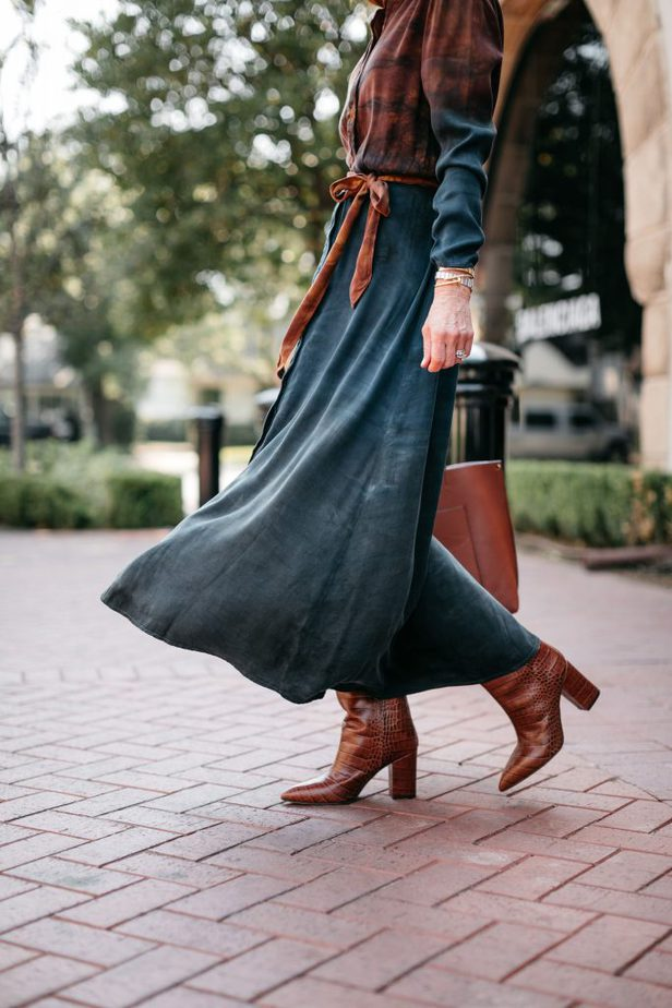 fall shirt dress
