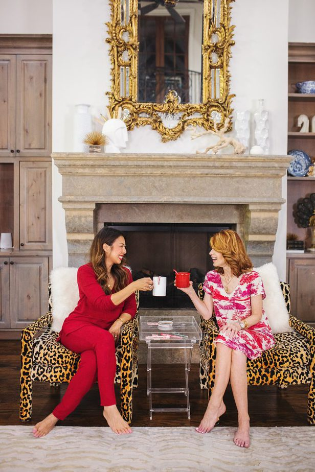 Texas Bloggers in Cool Nights Pajamas from Soma