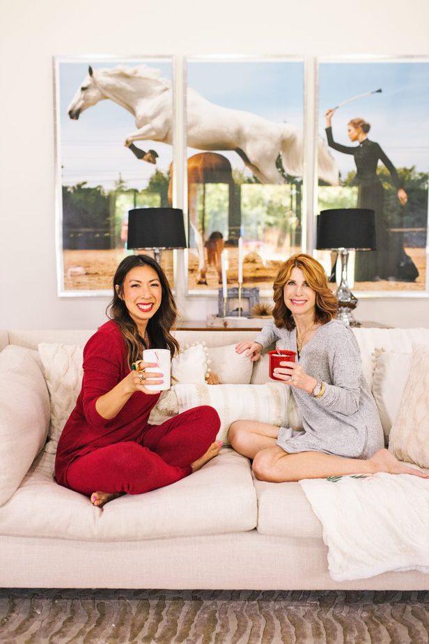 Soma Holiday Pajamas on Texas Bloggers