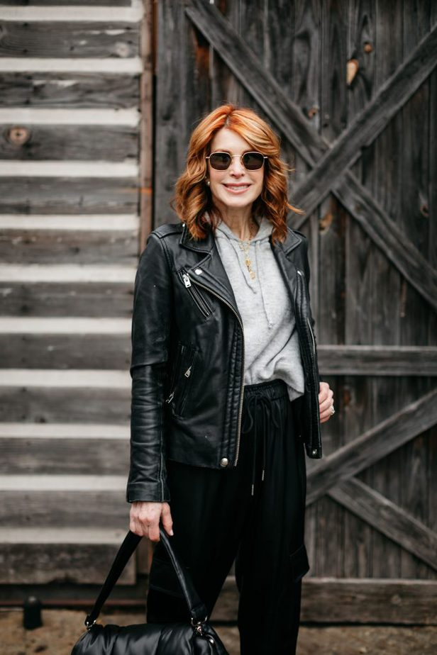 black and gray winter outfit | A FEW PIECES UNDER $100
