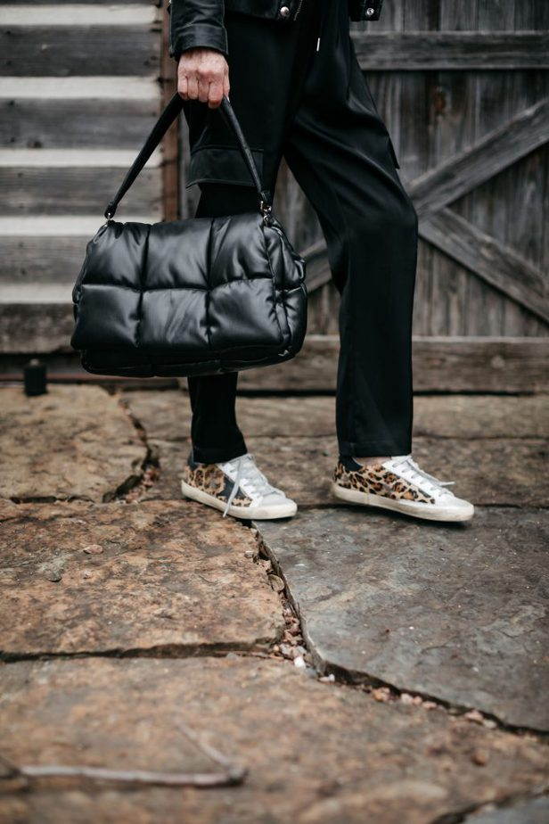black quilted bag | A FEW PIECES UNDER $100