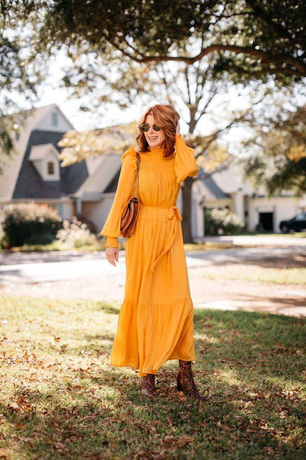 Optimistic Yellow smock dress