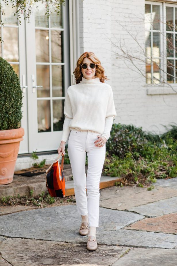 OFF-WHITE MONOCHROMATIC outfit