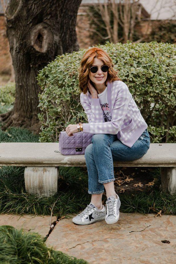 lavender outfit idea