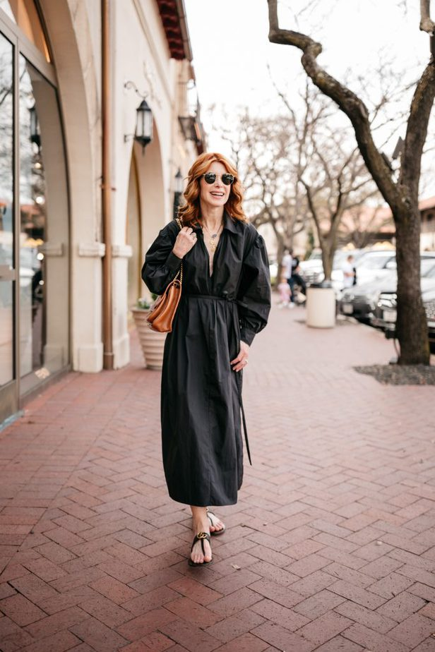 Black Designer Dress from Nordstrom on Dallas Blogger | Great Designer Pieces From Nordstrom