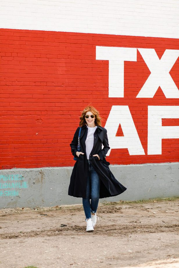 The Most Stylish Trench Coat on Dallas Blogger